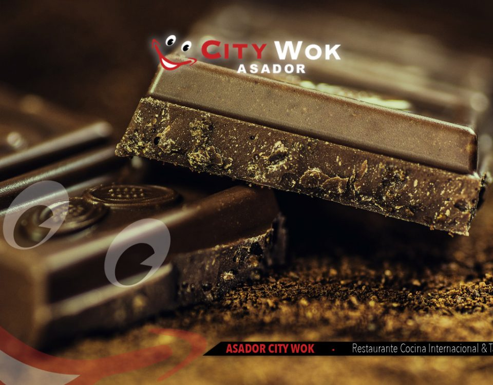 Beneficios del chocolate en City Wok