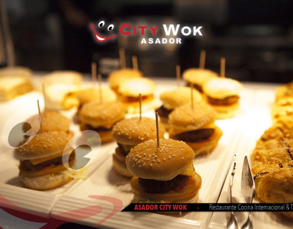 Las mejores hamburguesas de Valencia en CityWok