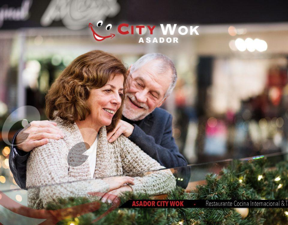 Navidad en el centro comercial mn4 y en City Wok Alfafar (Valencia)