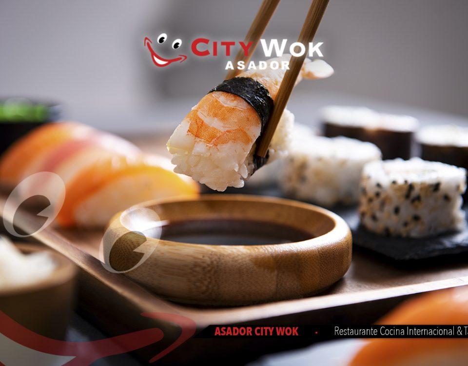 Descubre el mejor sushi de Valencia en City Wok Alfafar