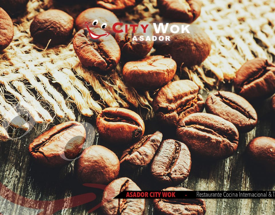 Variedad de cafés