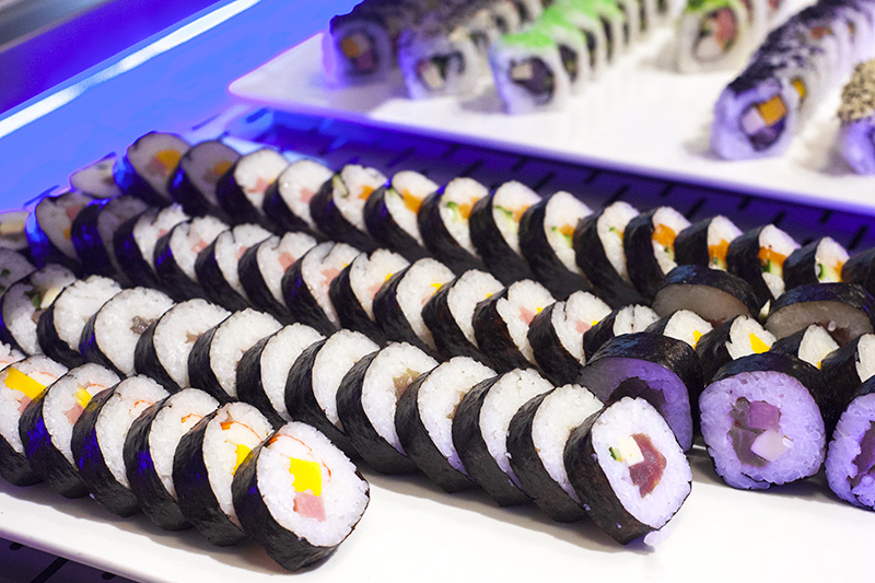Gastronomía Oriental: Sushi y Wok