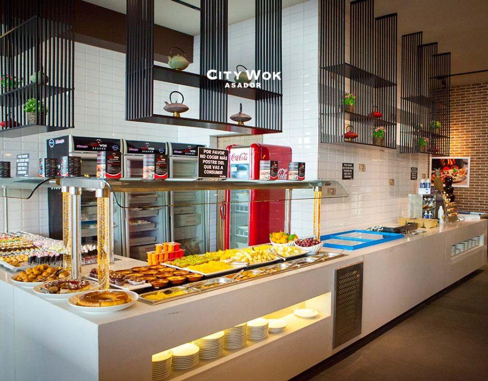 En Asador City Wok Alfafar podrás comer todo lo que quieras
