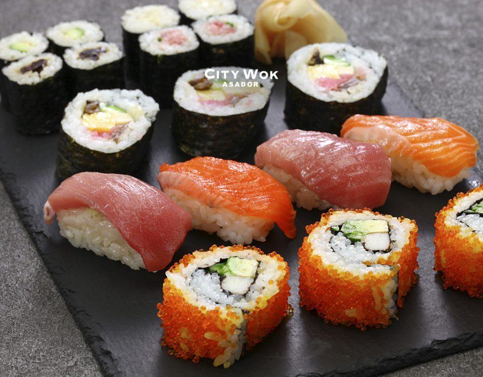 Variedades del sushi que tienes que conocer sí o sí
